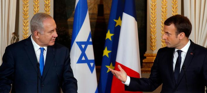 Μακρόν σε Νετανάχου: Κάνε θαρραλέες χειρονομίες προς τους Παλαιστίνιους