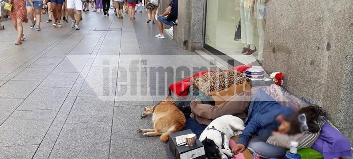 «Βράζει» στη ζέστη η Ισπανία