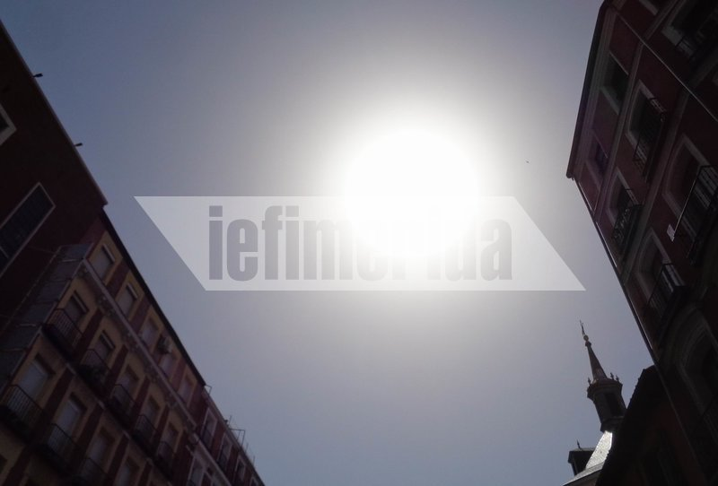 Η Μαδρίτη «βράζει» από τη ζέστη
