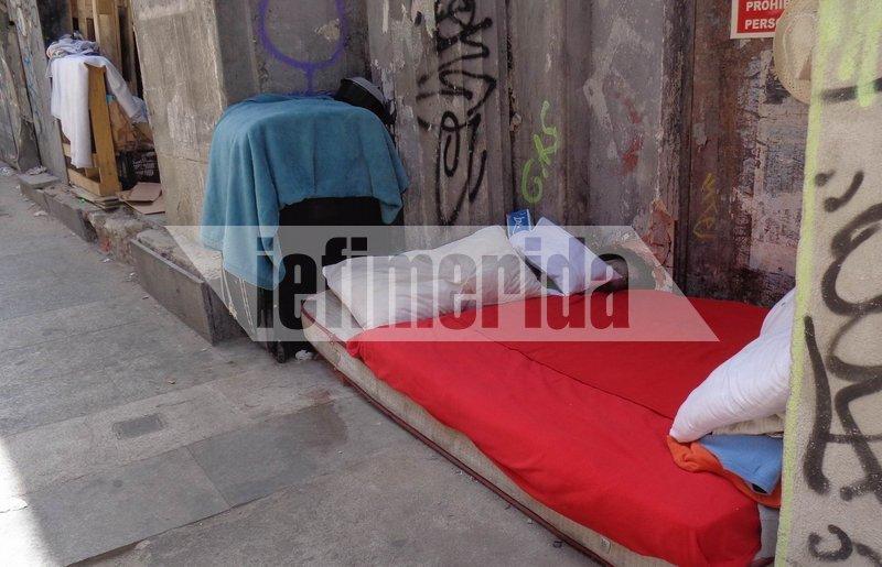 Το κύμα καύσωνα πλήττει την Ισπανία και οι άστεγοι βρίσκονται στο έλεος της ζέστης