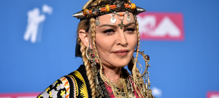 Η διάσημη τραγουδίστρια Μαντόνα. Φωτογραφία: AP