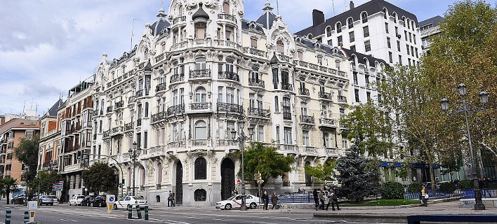 Κεντρικός δρόμος στη Μαδρίτη/Φωτογραφία: Pixabay