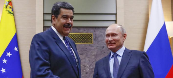 Μαδούρο και Πούτιν /Φωτογραφία: AP