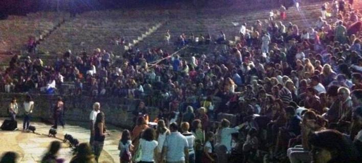 Απρόοπτα σε εκδήλωση στο Αρχαίο Θέατρο Φιλίππων (Φωτογραφία: xanthi2)
