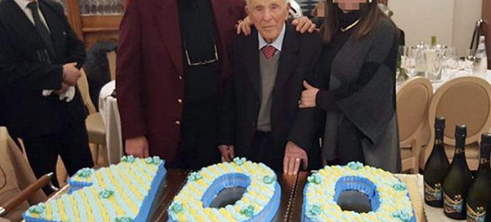 Εξαλλοι οι Ιταλοί με το πολυτελές πάρτι του γηραιότερου μαφιόζου στον κόσμο -Εκλεισε τα 100 [εικόνες]