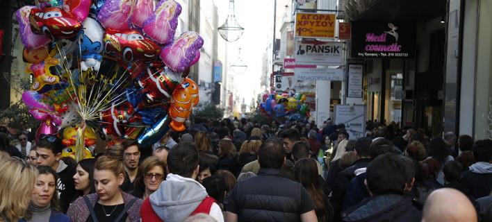 εορταστικό ωράριο/Φωτογραφία: Eurokinissi