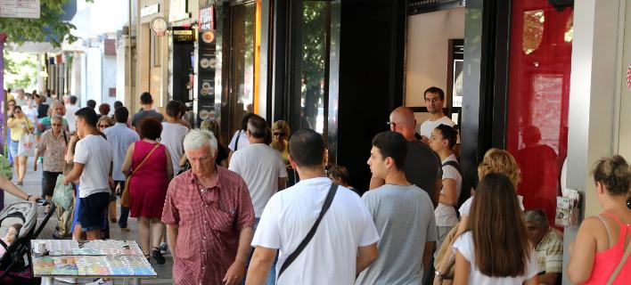 Αγορά στη Θεσσαλονίκη/Φωτογραφία: Eurokinissi