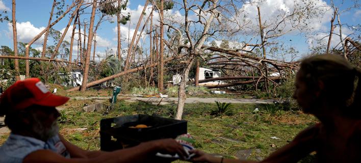 Κυκλώνας Μάικλ (Φωτογραφία: AP Photo/David Goldman)