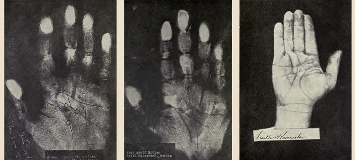 Χειρομάντης «διάβασε» τα χέρια του Ρούσβελτ, του Χίτλερ και του Μουσολίνι -Τι είδε [εικόνες]