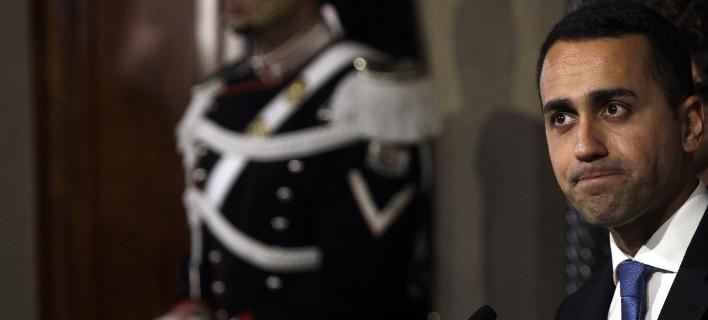 O επικεφαλής του Κινήματος 5 Αστέρων, Λουϊτζι ντι Μάιο (Φωτογραφία: ΑΡ)