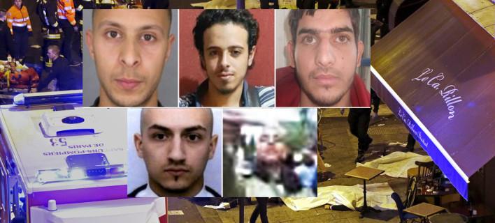 5 από τους τρομοκράτες του Παρισιού-Είναι Βέλγοι και Γάλλοι