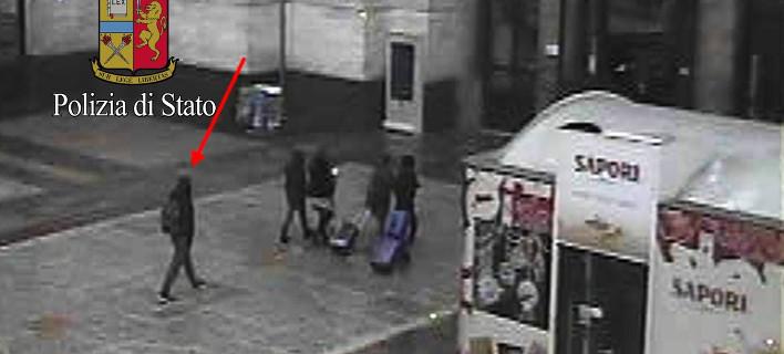 Ο μακελάρης του Βερολίνου λίγες ώρες πριν σκοτωθεί στο Μιλάνο [εικόνα]
