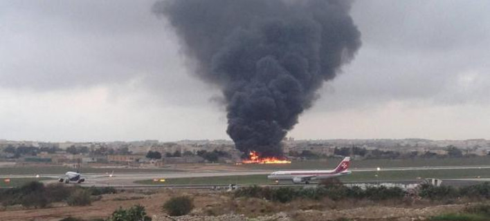 Συνετρίβη αεροπλάνο στη Μάλτα με αξιωματούχους της ΕΕ -5 νεκροί [εικόνες & βίντεο]