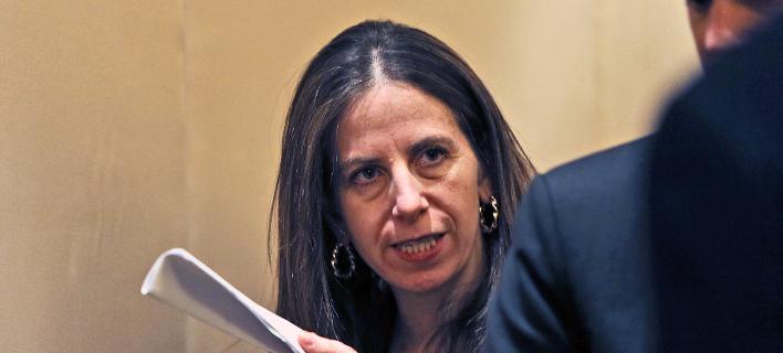 Τις κυρώσεις ανακοίνωσε η υφυπουργός Οικονομικών των ΗΠΑ Σιγκαλά Μαντέλκερ -Φωτογραφία αρχείου: AP Photo/Kamran Jebreili
