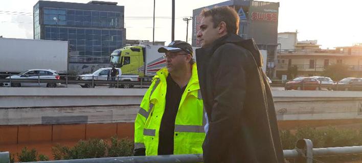 Στη Μάνδρα σήμερα ο Μητσοτάκης -Επίσκεψη στους πληγέντες