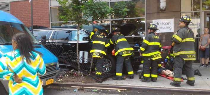 Αυτοκίνητο έπεσε σε πεζούς στο Μανχάταν -10 τραυματίες [εικόνες]