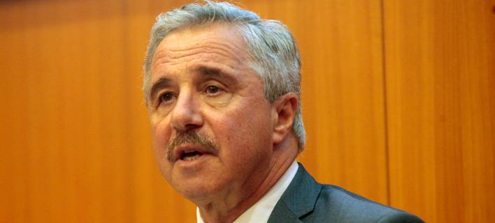 Ο Γιάννης Μανιάτης ανακοίνωσε την υποψηφιότητά του / Φωτογραφία: ΧΡΗΣΤΟΣ ΜΠΟΝΗΣ//EUROKINISSI