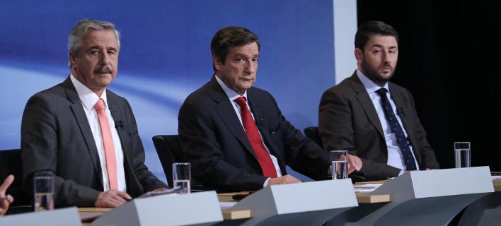 Εντονα αντέδρασαν οι Μανιάτης, Καμίνης, Ανδρουλάκης στη συμφωνία Γεννηματά-Θεοδωράκη -Φωτογραφία: Intimenews/ΛΙΑΚΟΣ ΓΙΑΝΝΗΣ