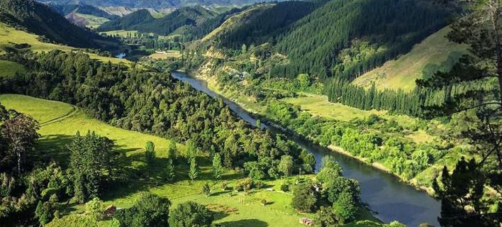 ν ζηλανδια News: Παγκόσμια πρωτοτυπία: Ποτάμι στη Ν. Ζηλανδία απέκτησε