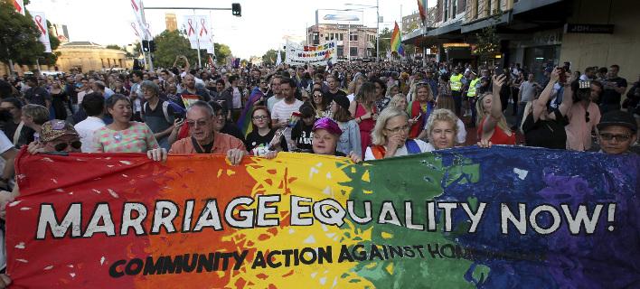 Σε ορισμένες πολιτείες η ομοφυλοφιλία ήταν ποινικό αδίκημα μέχρι πριν από περίπου 20 χρόνια, φωτογραφίες: AP images