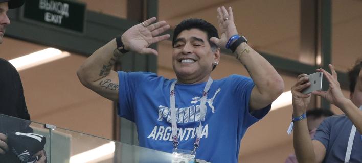 Ο Ντιέγκο Μαραντόνα (Φωτογραφία: AP/ Ricardo Mazalan)