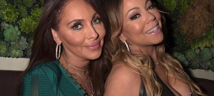 Η Μαράια Κάρεϊ με την πρώην μανατζέρ της. Φωτογραφία: Instagram