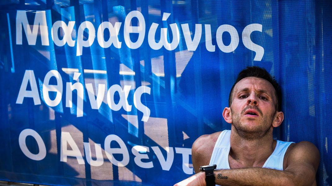 36ος Μαραθώνιος Αθήνας: Η κούραση, η ανακούφιση, η έκσταση σε μια εικόνα-Φωτογραφία: EUROKINISSI/ ΤΑΤΙΑΝΑ ΜΠΟΛΑΡΗ