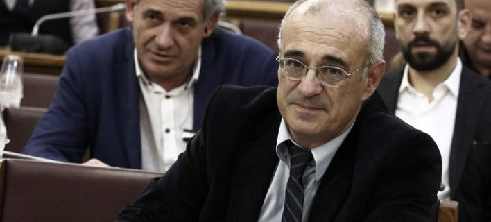 Ο Δημήτρης Μάρδας (Φωτογραφία: EUROKINISSI/ΓΙΩΡΓΟΣ ΚΟΝΤΑΡΙΝΗΣ)