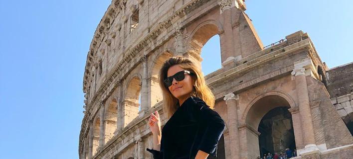 Η Μαρία Μενούνος στην Ρώμη, Φωτογραφία: mariamenounos/instagram