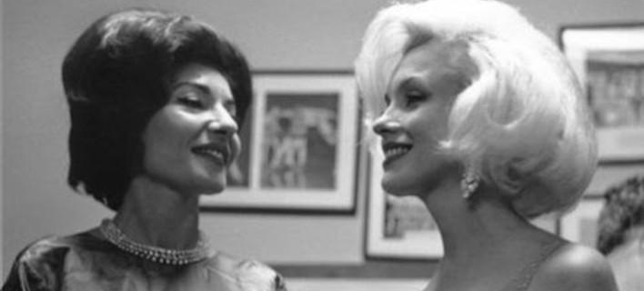 Η θρυλική συνάντηση Μέριλιν και Μαρίας Κάλλας -Δύο τραγικές ντίβες μαζί [βίντεο]
