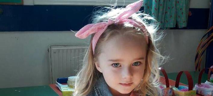 H μικρή Μαρί-Ελένη / Τη φωτογραφία είχε δώσει στη δημοσιότητα η οικογένειά της όταν εξαφανίστηκε