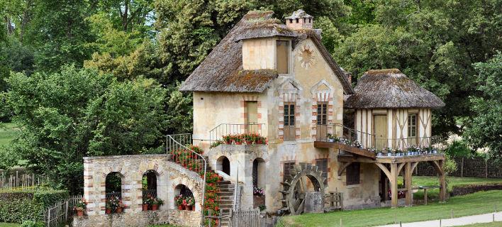 To «χωριουδάκι» της Μαρίας Αντουανέτας. Φωτογραφία: Wikipedia