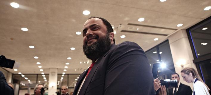 Ο πρόεδρος της Capital Maritime & Trading, Βαγγέλης Μαρινάκης/ Φωτογραφία: Sooc