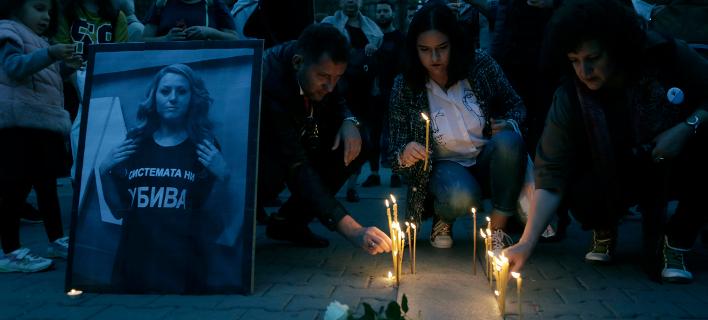 δολοφονία δημοσιογράφου Μαρίνοβα/Φωτογραφία: AP
