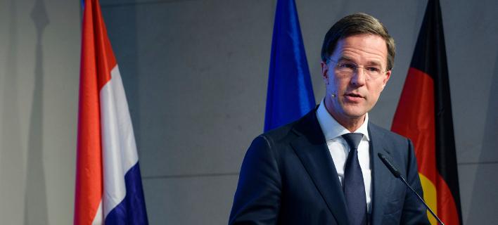 Ο πρωθυπουργός της Ολλανδίας Μαρκ Ρούτε, Φωτογραφία: AP