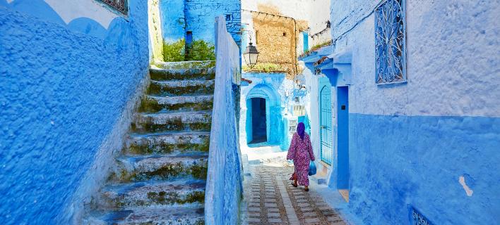 Γυναίκα στο Μαρόκο /Φωτογραφία Αρχείου: Shutterstock