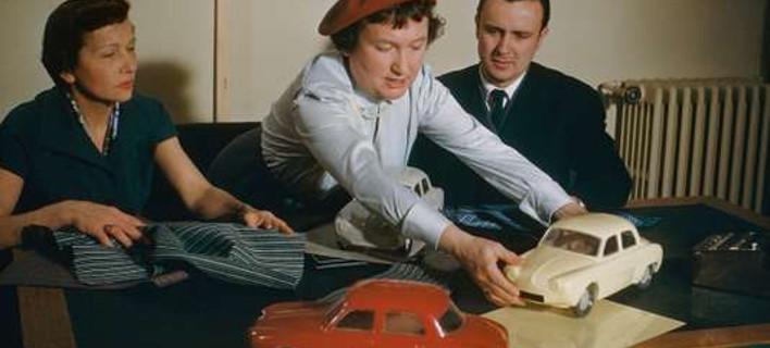 Η γυναίκα που έβαλε χρώμα στα αυτοκίνητα Renault [εικόνες]