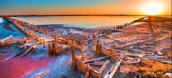 Η μυστηριώδης ομορφιά εγκαταλελειμμένου αλατωρυχείου στην Κριμαία θα σας καταπλή