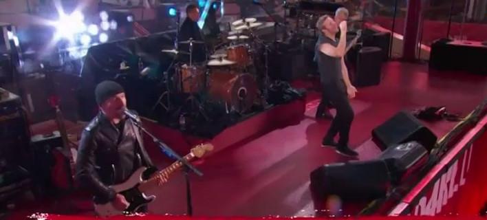 Ο πρώην της Γκουίνεθ Πάλτροου αντικατέστησε τον Bono στους U2