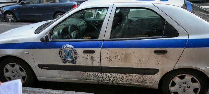 Νέα επίθεση αναρχικών με μολότοφ κατά του κτιρίου των ΜΑΤ στην Καισαριανή (Φωτογραφία αρχείου: EUROKINISSI/ ΒΑΣΙΛΗΣ ΡΕΜΠΑΠΗΣ)