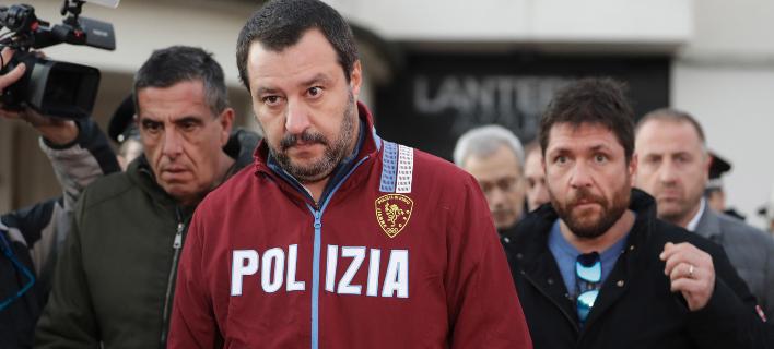 Ματέο Σαλβίνι/ Φωτογραφία: AP