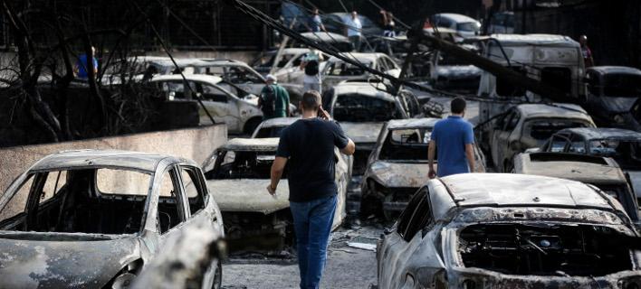 Πυρκαγιά στο Μάτι/Φωτογραφία αρχείου: Eurokinissi/ΤΑΤΙΑΝΑ ΜΠΟΛΑΡΗ