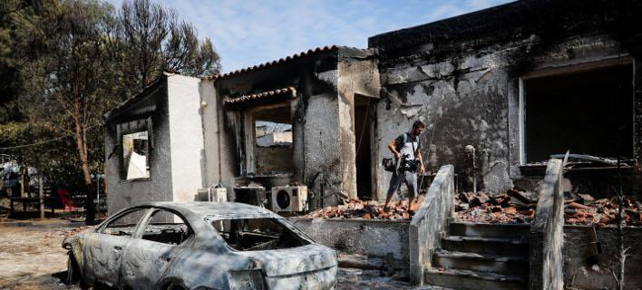 τραγωδία στο Μάτι/Φωτογραφία: Eurokinissi