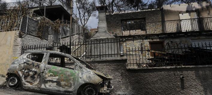 «Καταστροφή μετά την καταστροφή», γράφει η SZ για το Μάτι (Φωτογραφία: EUROKINISSI/ ΓΙΑΝΝΗΣ ΠΑΝΑΓΟΠΟΥΛΟΣ)