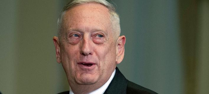 Ο υπουργός Άμυνας των ΗΠΑ, Τζέιμς Μάτις (Φωτογραφία: AP Photo/Cliff Owen)
