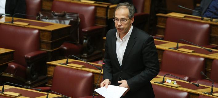 Φωτογραφία: O βουλευτής του Ποταμιού, Γιώργος Μαυρωτάς/Eurokinissi