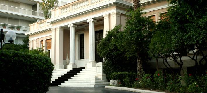 Ολοκληρώθηκε η σύσκεψη στο Μαξίμου ενόψει Εαρινής Συνόδου του ΔΝΤ