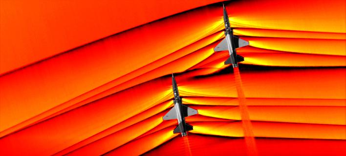Υπερηχητικά μαχητικά/ Φωτογραφία: NASA