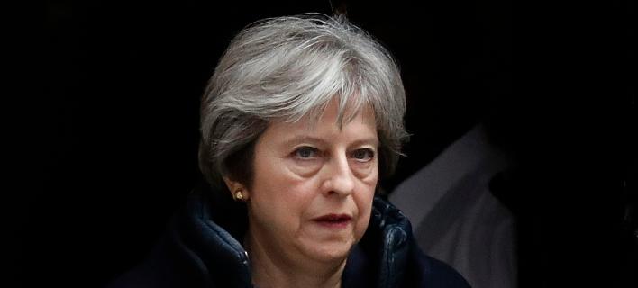 H πρωθυπουργός της Βρετανίας, Τερέζα Μέι (Φωτογραφία: ΑΡ)