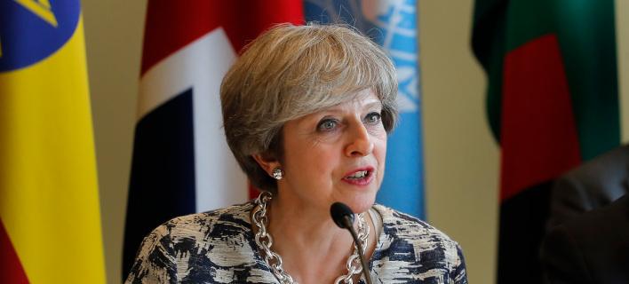 Η βρετανίδα πρωθυπουργός/Φωτογραφία: ΑΡ